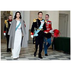 The Crown Prince and Crown Princess of Denmark attended the New Year's Reception for the Diplomatic Corps at the Christiansborg Palace in Copenhagen, Denmark on January 5 2016.