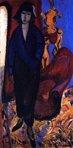 Ernst Ludwig Kirchner, Die Russin, 1912