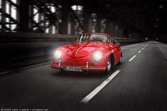 Red Porsche 356
