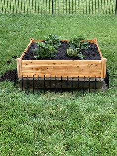 Easy way to hide a unsightly storm drain catch basin ...