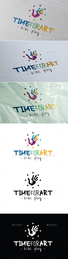 Time For Art - Kids Play #cute #design #education • Available here → http://graphicriver.net/item/time-for-art-kids-play/10668781?s_rank=498&ref=pxcr