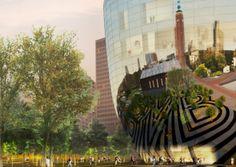 El #museo espejo de MVRDV / #arquitectura