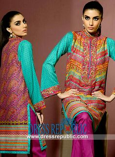 Umar Sayeed Al Karam Eid Collection of Cotton 2014  Buy Online Umar Sayeed Al Karam Eid Collection of Cotton 2014 in Slough, Newcastle upon Tyne, Blackburn and Dewsbury, UK (in Wholesale and Retail). by www.dressrepublic.com