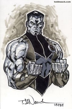Todd Nauck - Colossus grayscale