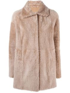 Shop Drome reversible shearling coat  in Feathers from the world's best independent boutiques at farfetch.com. Shop 300 boutiques at one address.