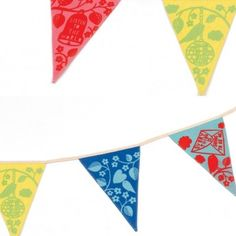 Rob Ryan 'Everything's OK' Bunting Rob Ryan, Bird Quotes, Bunting, Paper Cutting, Kids Room, Banner, Symbols, Letters, Crafty