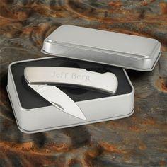 Stainless Steel Lock-Back Knife
