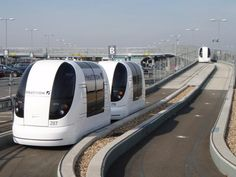 A Ride On Heathrow's Self-Driving Pods | Londonist