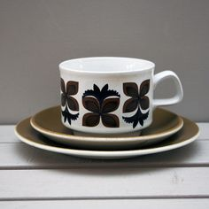 1960s Staffordshire Potteries trio by MyVintageStudio on Etsy, £12.00