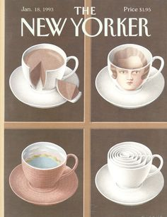 The New Yorker - Monday, January 18, 1993 - Issue # 3543 - Vol. 68 - N° 47 - Cover by : Gürbüz Doğan Ekşioğlu