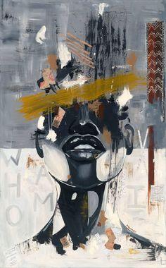 Canvas print African American art Identity | Etsy