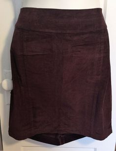 Sophisticated Velvet Feel Brown Mynt 1792 Pencil Skirt - 12W and 22W left! #Mynt1792 #StraightPencil