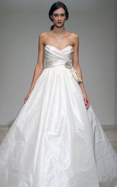 Amsale Bridal- love this dress!
