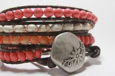 Adorable Boho Wrap Bracelet. $37.00, via Etsy.