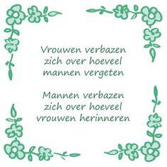 Vrouwen verbazen zich http://www.tegeltjeswijsheid.nl/kant-en-klare-tegel/vrouwen-verbazen-zich.html