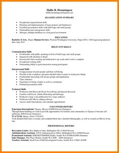 resume skills and abilities section