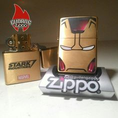 Iron man zippo,, so cool !! #ironman #zippolighter #zippo