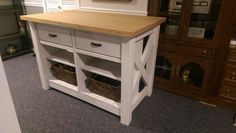 Ana White | rustic style double kitchen island - DIY Projects