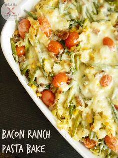 Bacon Ranch Pasta Ba