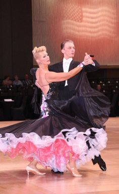 International Style Tango with Mikolaj Czarnecki and Charlene Proctor at the United States Dancesport Championships in Orlando, Florida 2013.  Photo by Park West Photography.