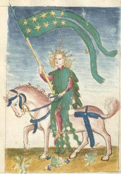 Bellifortis VerfasserKyeser, Conradus  ErschienenElsaß, [um 1460] Ms. germ. qu. 15  Folio 48r