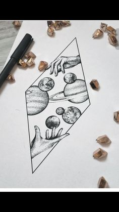 Space tattoo.