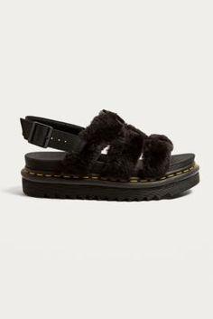 Black Yelena Sandals Dr. Sandales Noir Dr Yelena. Martens Martens 3ckcYgPY