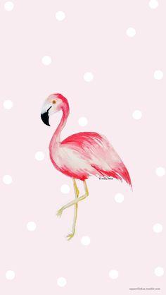 Abril já está chegando e temos mais um wallpapers em aquarela tbm E esse mês temos o flamingo, para colorir nossas telas, como também uma versão com calendário mensal, e uma versão para celular....