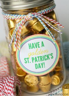 St. Patrick's Day Gift ~ Such a cute idea!