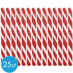 Red Candy Sticks 12.5oz - Party City for fruit kabobs (line the vase w/these)