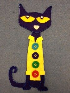 Flannel Friday! Pete the Cat and His Four Groovy Buttons | Miss Mary Liberry