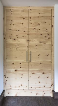 Evergreen softwood: Natural wood panels made from Larch, Spruce, Stone Pine and Reclaimed Wood open up entirely new possibilities. Wood Paneling, Natural Wood, Tall Cabinet Storage, Stone, Nature, Furniture, Home Decor, Wood, Homemade Home Decor