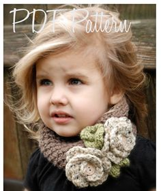 Crochet PATTERN-The Braelyn Warmer (Toddler, Child, and Adult sizes) also can be Made to Order. $5.50, via Etsy.