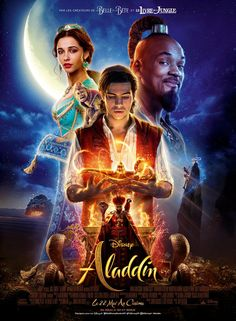 High resolution official theatrical movie poster ( of for Aladdin Image dimensions: 1500 x Directed by Guy Ritchie. Starring Naomi Scott, Will Smith Aladdin Film, Disney Aladdin, Watch Aladdin, Disney Fan, Aladdin Game, Disney Jasmine, Naomi Scott, Disney Films, Aladdin
