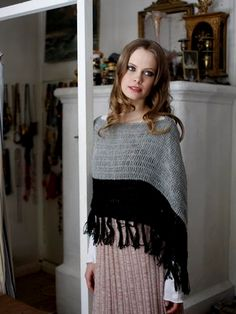 Nordic Yarns and Design since 1928 Knitwear Fashion, Crochet Shawl, Crochet Clothes, Knitting, My Style, Pretty, Sweaters, Beauty, Dresses