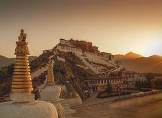 Reiseangebote und Stadtrundfahrt in Lhasa.