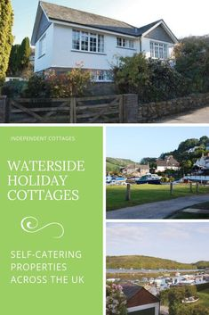 A large selection of waterside retreats throughout the UK with cottages by the river, loch, canal, lake and sea. Uk Holidays, Luxury Holidays, Best Places To Travel, Cool Places To Visit, Holiday Cottages To Rent, Character Cottages, Independent Cottages, Romantic Cottage, Weekends Away