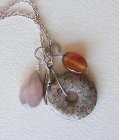 beaches, gemston pendant, jewelri find, agates, handmad jewelri, beads, botswana agat, handmade jewelry, bead necklaces
