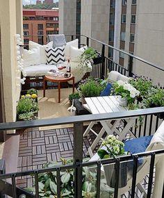 Varandas Românticas| Simples Decoracao | Simples Decoração #BalconyGarden