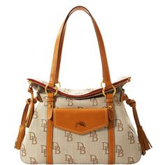 New Dooney and Bourke Florentine fabric Smith Bag. Love :)
