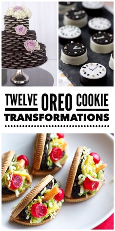 12 Oreo Cookie Transformations
