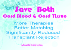 Banking baby's cord blood and cord tissue may be the most important decision you make for your family. MiracleCord.com #cordblood #cordtissue