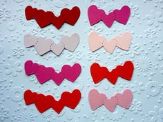 40 Heart piece Borders for Valentine by Craftycards82 on Etsy, £2.25