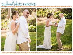 First Look - Laguna Beach Wedding