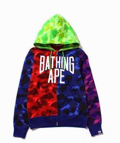 "MY SPIZZOT: BAPE ""What The CAMO"" Hoodie"