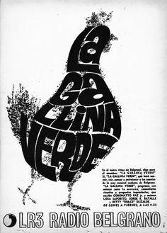 Radio BELGRANO, Buenos Aires, década del 70.