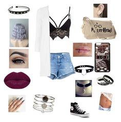 """""""Summer Edge #1"""" by wolfqueen89 on Polyvore featuring Club L, rag & bone/JEAN, Oasis, Converse, Winky Lux, Otis Jaxon and Accessorize"""