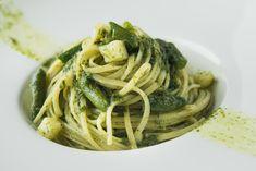 Egy finom Zöld spárgás spagetti medvehagyma-pestóval ebédre vagy vacsorára? Zöld spárgás spagetti medvehagyma-pestóval Receptek a Mindmegette.hu Recept gyűjteményében! Clean Eating, Pasta, Bologna, Bacon, Spaghetti, Deserts, Food And Drink, Ethnic Recipes, Noodles