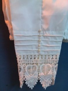 Best 12 Cotton cigrette pants,wid embroidered,Lace bprder…more embelish wid pearls& thin stitches of printex… Stylish Dress Designs, Designs For Dresses, Stylish Dresses, Salwar Designs, Kurti Neck Designs, Pakistani Dresses Casual, Pakistani Dress Design, Salwar Pants, Kurti Sleeves Design