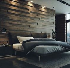 51 Relaxing and Romantic Bedroom Decorating Ideas for New Couples is part of Modern bedroom interior - Thus, it's essential that you think about relaxing and romantic bedroom decorating ideas for couples that will merge two unique […] Bedroom Lamps Design, Modern Bedroom Design, Master Bedroom Design, Home Decor Bedroom, Home Interior Design, Contemporary Bedroom, Bedroom Designs, Modern Bedrooms, Masculine Master Bedroom